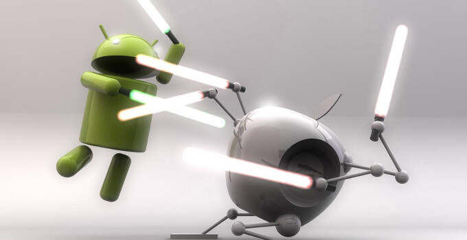 First to the race: Apple or Android?