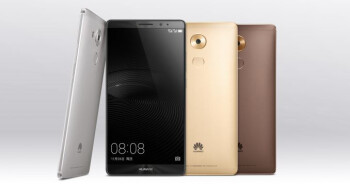 Huawei Mate 8 goes official: 6-inch monster phone with top-grade specs and 4,000mAh battery