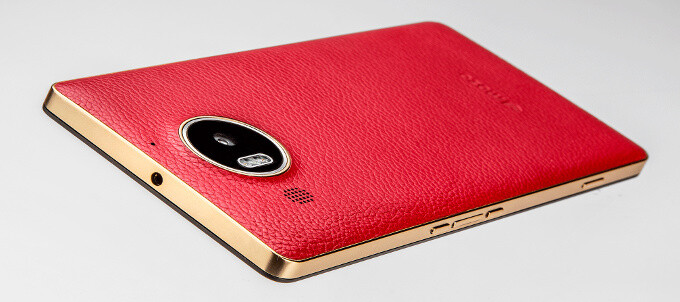 Mozo brings a sexy leather back to liven up Microsoft Lumia 950's uninspiring plastic build