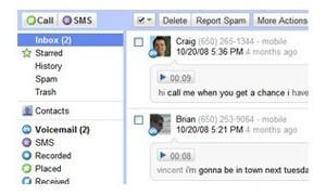 Google Voice preview is released