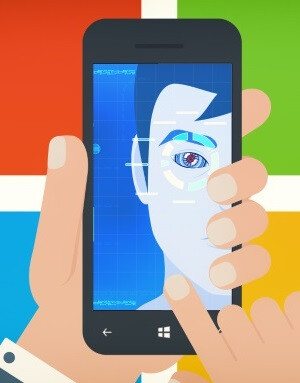 ...then Microsoft jumped in to bring iris scanners to the mainstream.
