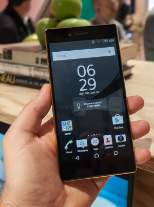 The Sony Xperia Z5 Premium is 4K, for real!