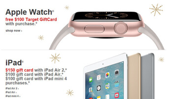Apple products sold well at Target during Black Friday