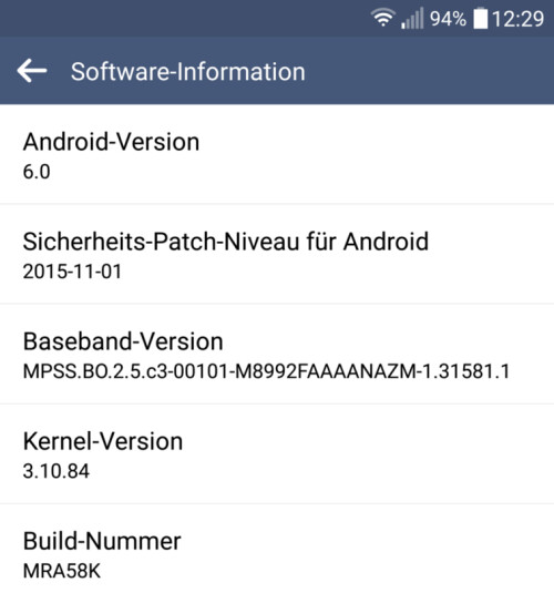 Android 6.0 comes to the LG G4 in some European regions