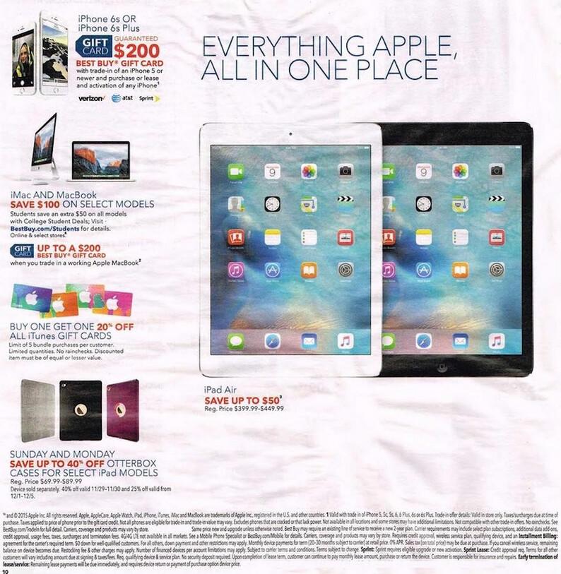 Cyber monday deals apple ipad mini