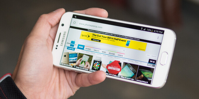 Amazon's deal of the day allows you to snatch an unlocked Samsung Galaxy S6 for $399.99