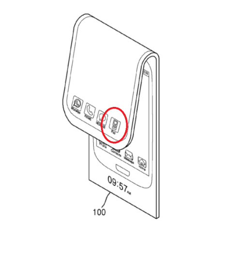 Samsung filed a patent application for a phone that folds to become a tablet