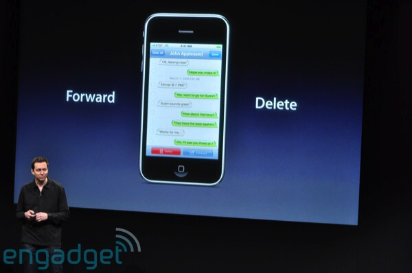 Messages - Apple previews iPhone 3.0 software