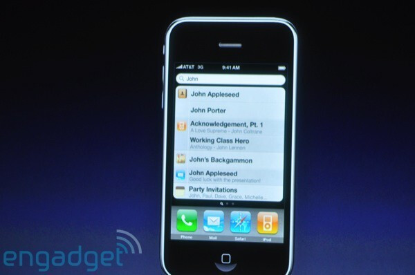 Spotlight - Apple previews iPhone 3.0 software