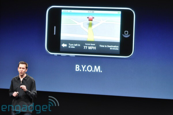 Turn by turn - Apple previews iPhone 3.0 software