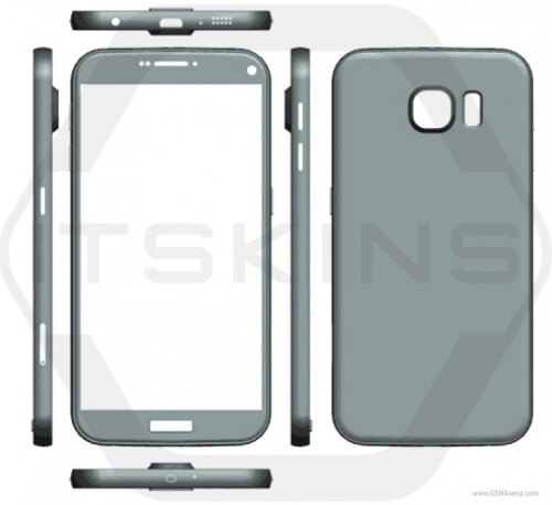 Alleged Samsung Galaxy S7 renders