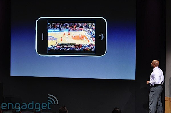 Video streaming - Apple previews iPhone 3.0 software