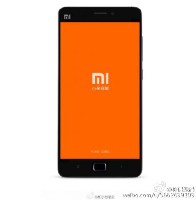 Render of the Xiaomi Mi 5 shows a home button, confirming a rumor that the phone will not employ an ultrasonic fingerprint scanner