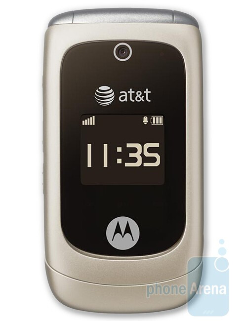 The Moto EM330 - a retro-looking clamshell - Motorola EM330 to be offered by AT&T