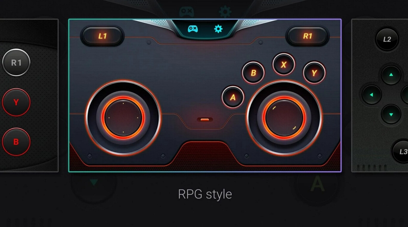 The samsung s console gamepad app transforms your galaxy phone into a game controller for galaxy - Android console application ...