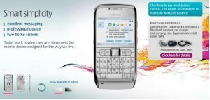 Rogers offers Nokia E71 in white