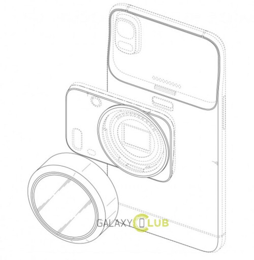 Samsung receives patents in Korea for three new concepts related to a rear-facing smartphone camera
