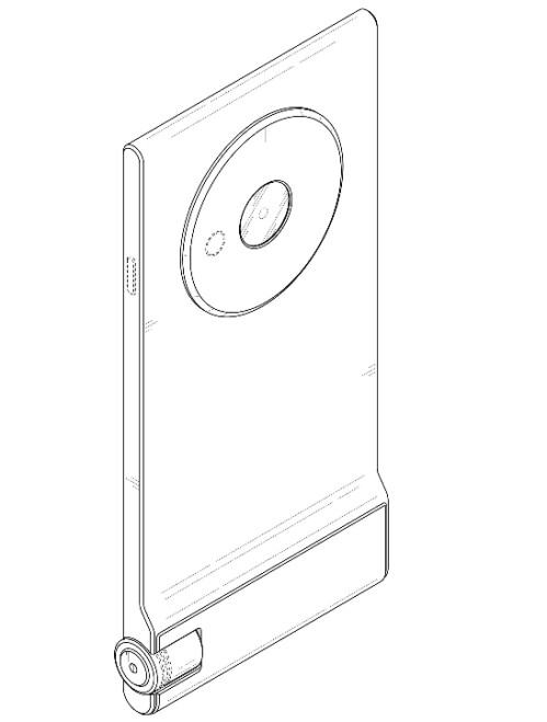Phone design includes thin footprint and physical shutter key