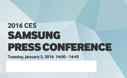 Samsung's CES 2016 invitation - CES 2016: what to expect