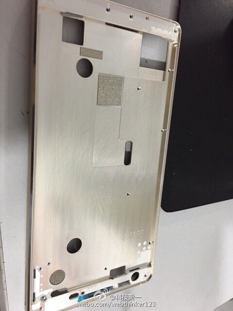 alleged Galaxy S7 chassis