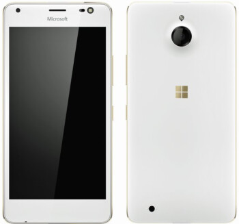Alleged render of the Microsoft Lumia 850