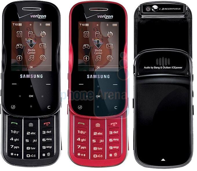 Samsung's Trance U490 is ready for launch on Verizon tomorrow