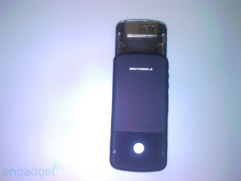 Motorola i856 - a good-looking iDEN slider