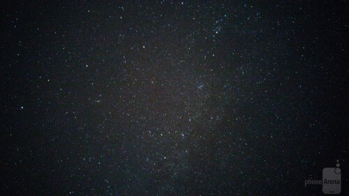 And even more stars - ISO1000 and 30s exposure time