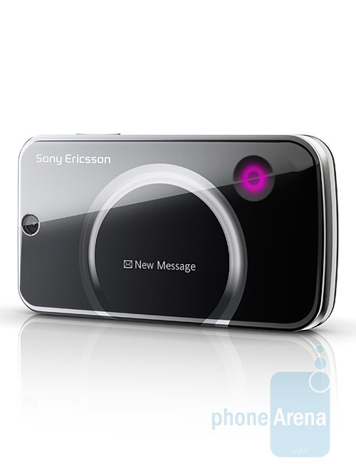 A new stylish phone by Sony Ericsson