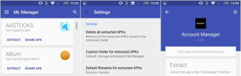 Spotlight: ML Manager for Android lets you organize apps and extract them to APKs