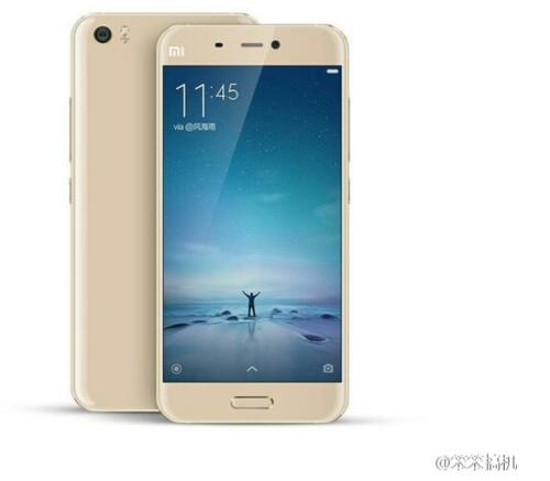 Xiaomi Mi 5 in Gold