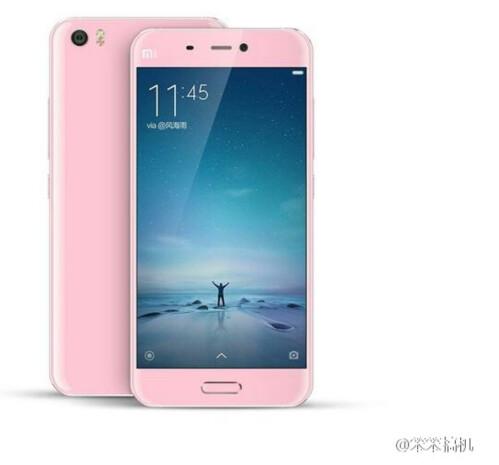 Xiaomi Mi 5 in Pink