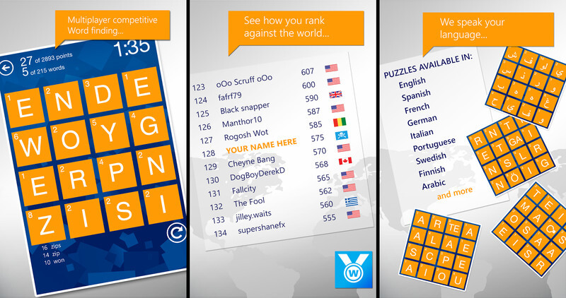 8 Fun Word Puzzle Games For Android And IOS Wordament