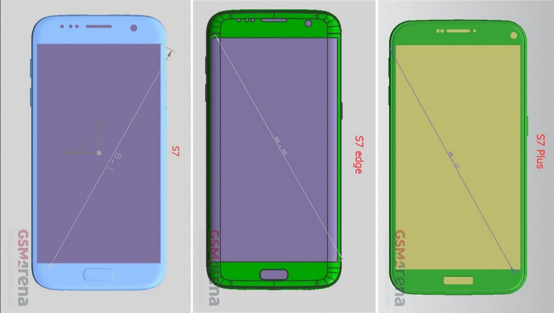 leaked schematics for the Galaxy S7 show us a gargantuan Galaxy S7 ...