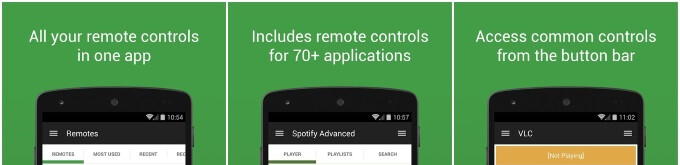 Spotlight: Unified Remote turns your Android smartphone into a powerful PC controller