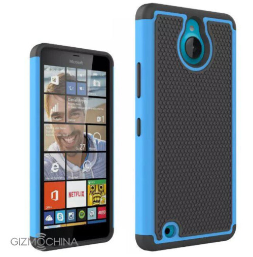 Images of cases for the unannounced Microsoft Lumia 850 are leaked