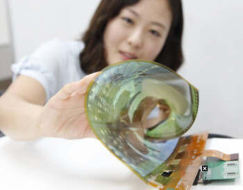 LG's flexible OLED screen