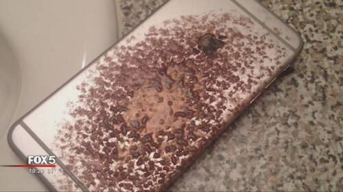 Atlanta man's iPhone 6 Plus catches fire