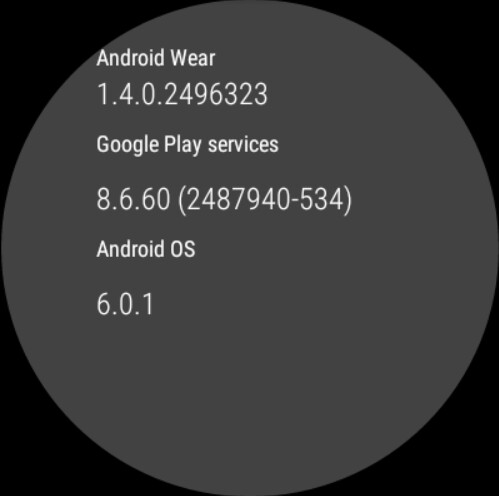 Huawei Watch owner receives a test build of Android Wear that enables new features - Huawei Watch owner receives test build of Android Wear, turning on the speaker