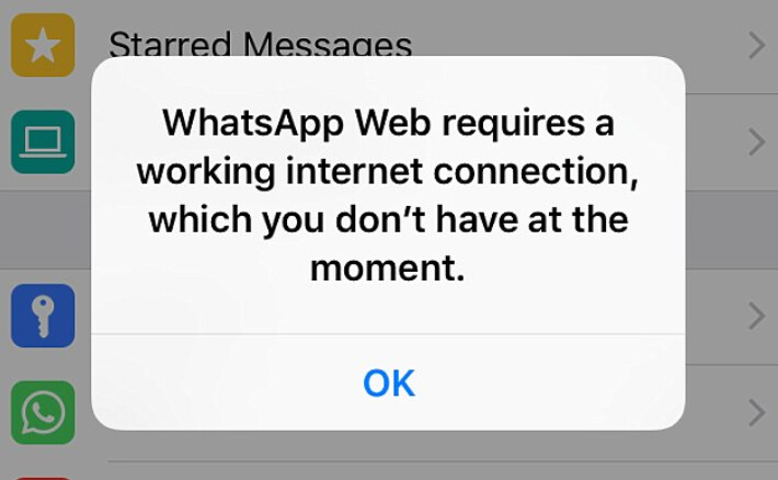 WhatsApp is down for many subscribers