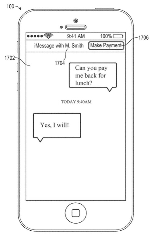 During iMessage conversation repayment is demanded