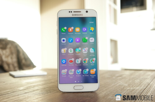 Pictures of Samsung Galaxy S6 and Samsung Galaxy S6 edge running Android 6.0