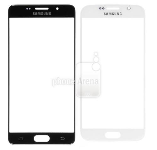 Samsung Galaxy S7 front panel (L) vs. Samsung Galaxy S6 (R)