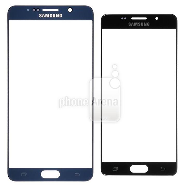 Samsung Galaxy Note 5 front panel (L) vs. Samsung Galaxy S7 (R)