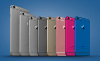 Colorful new Apple iPhone 6c renders show us what the anticipated munchkin might look like