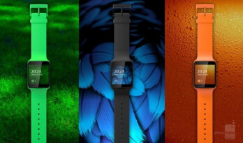 Real-life photos of the canceled Nokia Moonraker smartwatch surface