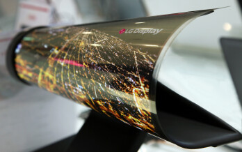 LG is going to showcase this rollable display prototype at CES '16, but will it let us touch is?