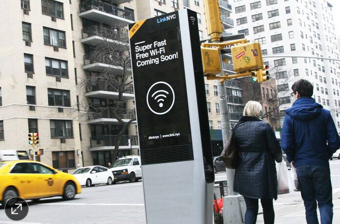 500 Wi-Fi kiosks will be up and running in NYC by July
