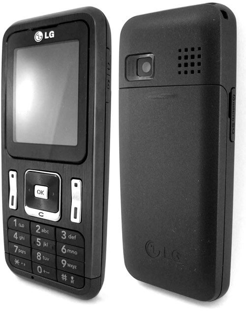 Unlike the GM200, the GB210 doesn't have radio antenna - LG GB210 - another affordable music phone