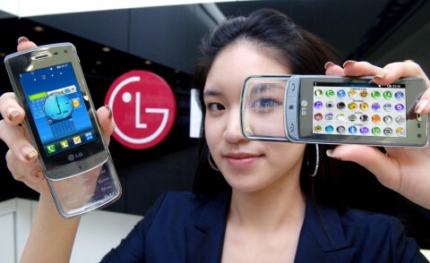 It's transparent! - LG to let us play with its transparent phone tomorrow